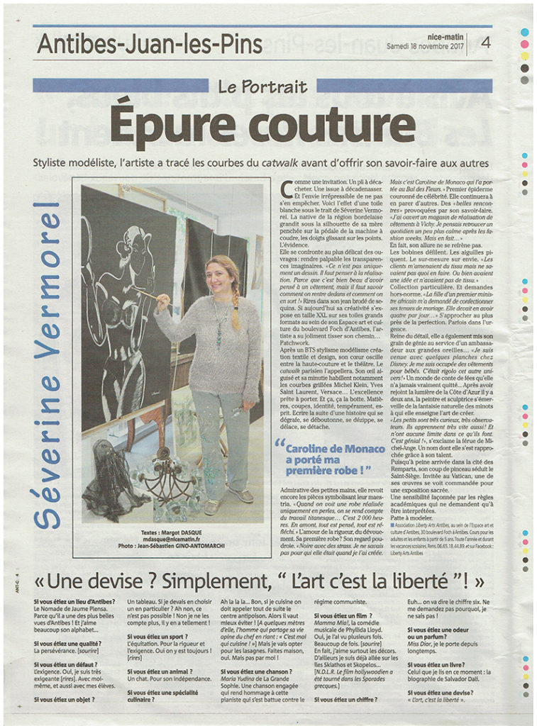 Nice Matin Le Portrait Severine Vermorel