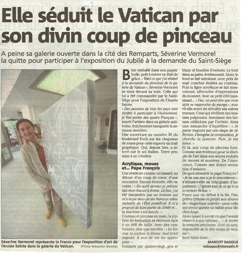 Severine Vermorel Vatican